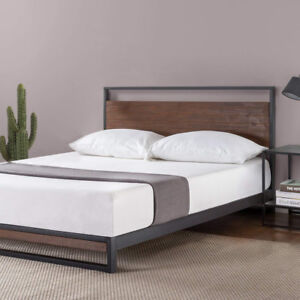 (New, unboxed) Zinus - Ironline Low Profile Platform Bed (King)