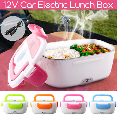 Truck Lunch Box (Electric Lunch Box Food Heater Portable Meal Warmer Stove For 12V Plug Car Truck )