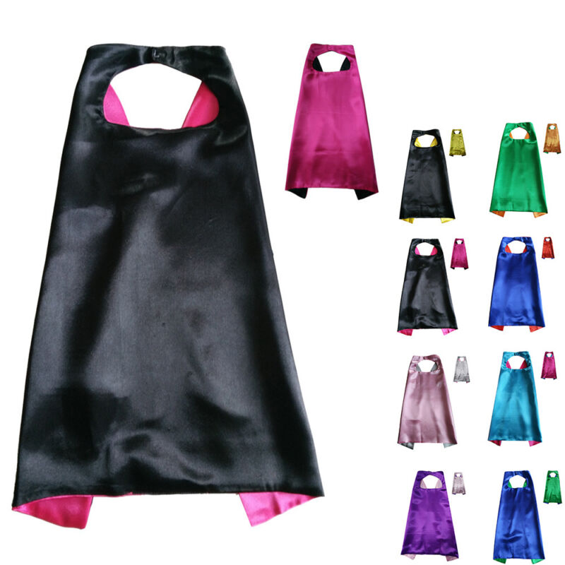 Superhero Cape For Kids Birthday Party Favors and Ideas 70CM