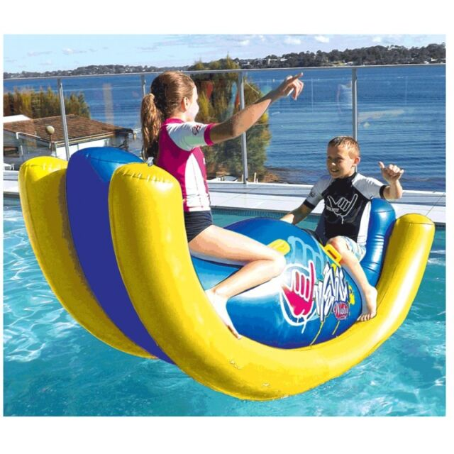 WAHU ROCKER Pool Party Seesaw Rodeo Hot Toy Kids 2.15m LONG HUGE!