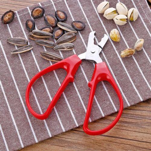 Pistachio Nut Pliers Pine Nuts Opener  1Pc Stainless Steel Peeling Pliers HS
