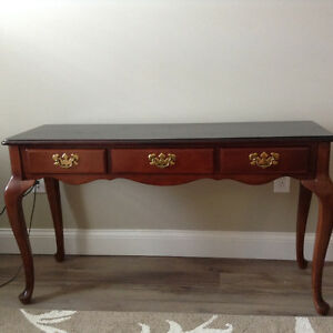 Dark Oak sofa table