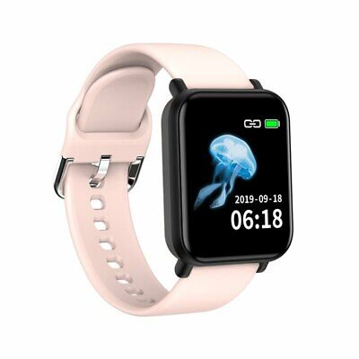 Touch Smart Watch Women Men Heart Rate Wristband For iPhone Android Waterproof
