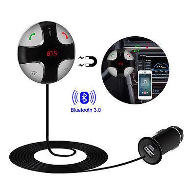 Bluetooth Auto MP3 Player FM Transmitter Freisprechanlage USB Ladegerät SD KFZ