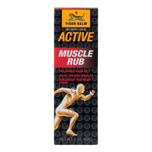 Tiger Balm Muscle Rub 2 oz (Pack of 2)