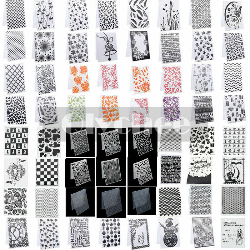 DIY Silicone Clear Rubber Stamps Seal Embossing Folders Scrapbooking Paper Craft