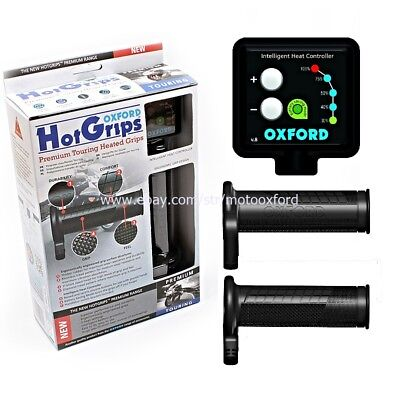 Oxford Hot Heated Grips Motorcycle PREMIUM  for TOURING Motorbike Universal FIT
