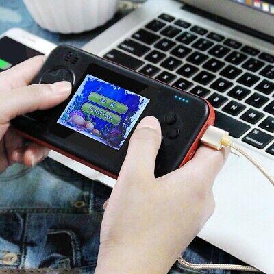Power Bank Handheld Videospielkonsole Game Player Embutido 416 Jogos Dual