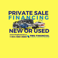 FMG Financial Inc Private Purchase Finance for ALL Credit Types!