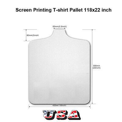 Screen Printing T-shirts Pallet Platen 1822 Inch Press Board Free Shipping