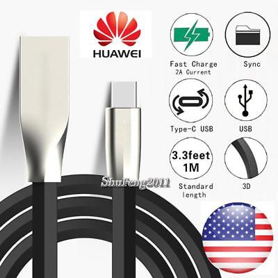 BlACK TYPE C 3.1 USB DATA SYNC CHARGING CABLE CHARGER FOR Huawei Mate 9](huawei mate 9 charging cable)