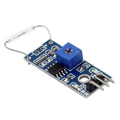 Reed Sensor Magnetic Switch Module Normally Open Arduino Avr Atmega Pic Pi R7w1