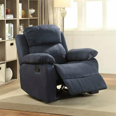 Bowery Hill Recliner in Blue