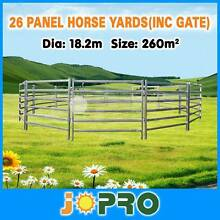 Horse panels round yard 26pcs 18.2m diameter Springvale Greater Dandenong Preview