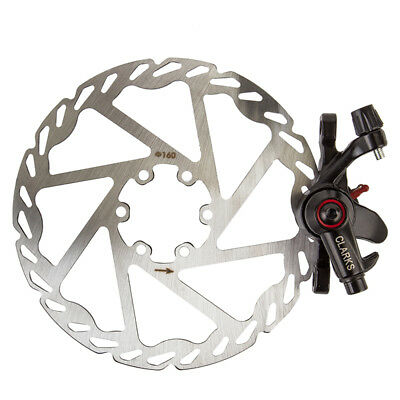 Clarks CMD-17 Mech Disc Brake Disc Clk Cmd-17 Mech Forr 160mm Bk