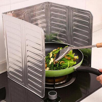 Cocina Freír Aceite Salpicadura Protector Bafle Gas Estufa Removedor Quemadura