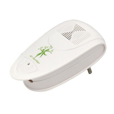 Home Hotel Smoking Wash Room Ozone Air Purifier Carbon Ionic Ionizer EU Plug