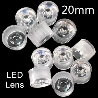 Waterproof Reflector Collimator Led Lens 15306090120 Degree For Diy