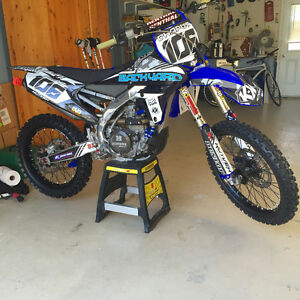 """Yz450f comme neuf !!! Bcp d'extra """"""""NEGO"""""""""""""""