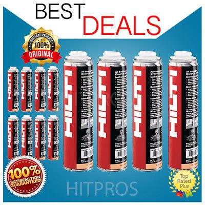 Hilti Cf-as Cjp Insulating Foam - 12 Cans New Free Hilti Pen Fast Shipping