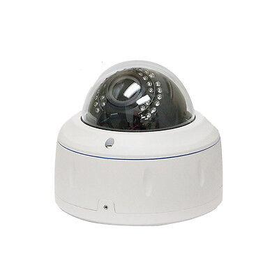 5MP 1920P Dome PoE IP Security Camera 2.8-12mm Varifocal Lens 4D DNR OSD Sem
