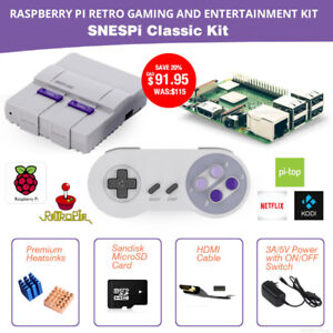 NEW Raspberry Pi retro gaming and entertainment kit on sale now!