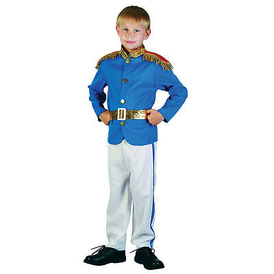 Child Boys #Charming Prince World Book Day Fantasy Fancy Dress Costume All Ages (Prince Charming Kids Costume)