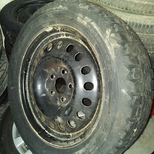 "17"" Snow tire Package"