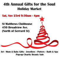 East End Toronto Holiday Market with Local Artisans!