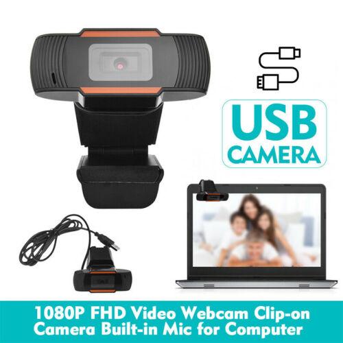 Webcam 1080P HD Cam Auto Focus Web Camera with Microphone Fo