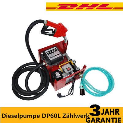 Dieselpumpe DP60L Zählwerk Heizölpumpe Diesel Tankstelle selbstansaugend Sale