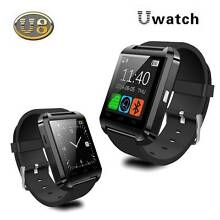Black U8 Bluetooth Smart Watch For Android