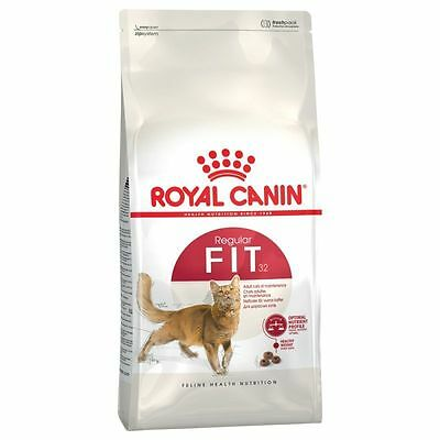 Royal Canin Feline Health Nutrition Fit 32 Cat Food Dry Cat Food 400g X3