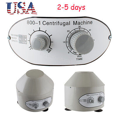 Usa- 25w Electric Centrifuge Machine 4000rpm Lab Medical Practice 4000rpm Fda