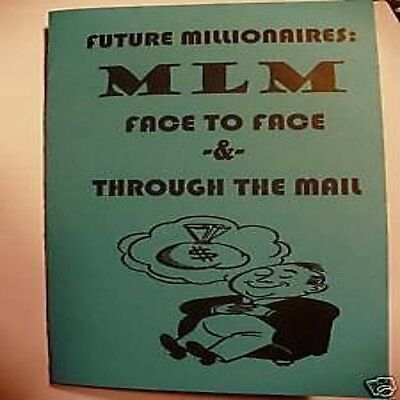 MLM FACE-TO-FACE & THROUGH THE MAIL Multi-Level Marketing book