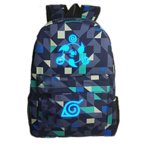 2017 Anime Naruto Backpack School Bag Outdoor Sport Laptop Bags Sack Luminous