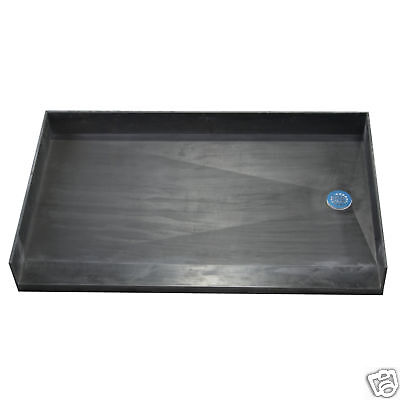 - Tile Ready Shower Base 33x60 Barrier Free Right Drain
