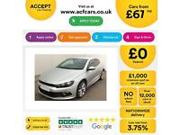 Volkswagen Scirocco 2.0TDI ( 140ps ) BlueMotionR Line FROM £67 PER WEEK