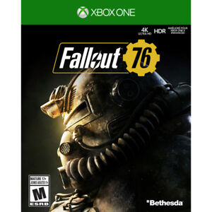 Fallout 76 (Xbox One) New/Sealed Neuf/Scellé