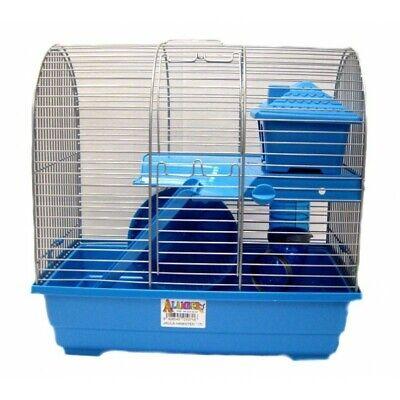 Jaula hamster titi 37x22.5x36.5cm con accesorios