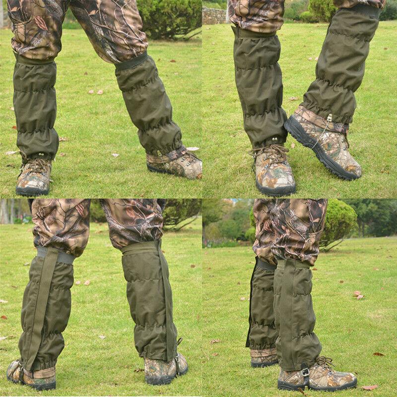 Ultralight Leg Gaiters Outdoor Hiking Hunting Oxford Gaiters Waterproof Boots