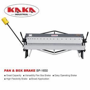 50-INCH PAN BOX BRAKE