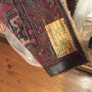 """Iranian Carpet, hall runner, 10'10"""" by 27"""". Perfect condition."""