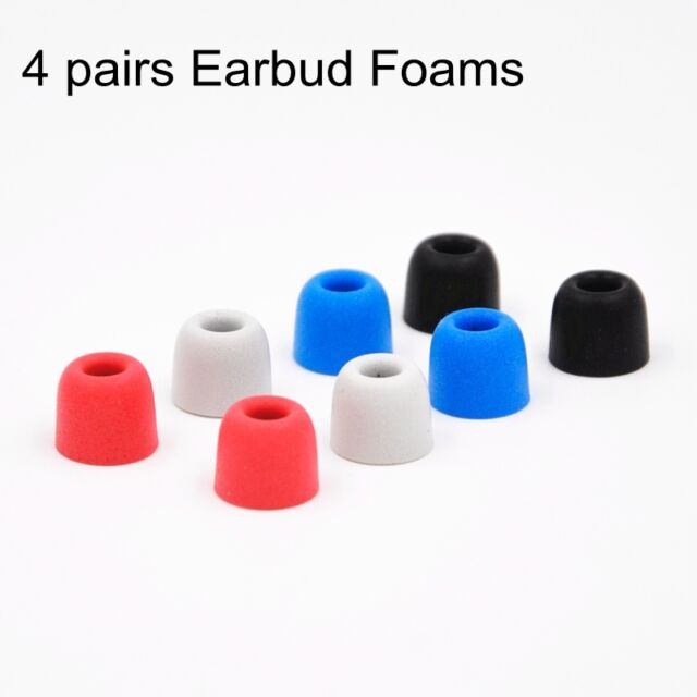 4 Pairs 5mm Memory Foam C sets Comply T400 Ear Tips For Earphone Earbud pb