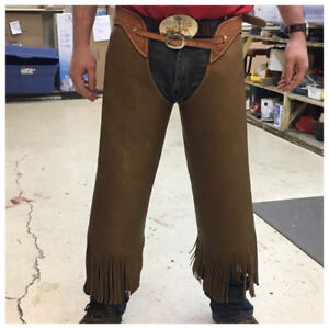 K-J leather chinks/chaps. New