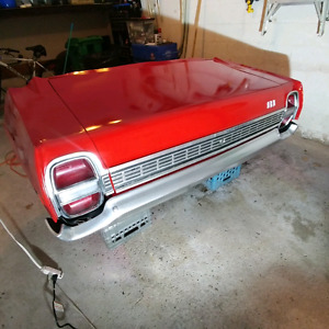 1968 Ford Galaxie 500 Back Clip/End