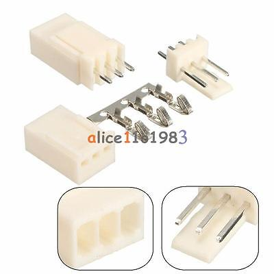 50pcs Kf2510-3p 2.54mm Pin Header 50terminal 50housing Connector Kits