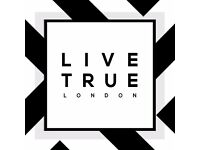 Hair Stylist / Hairdresser - LIVE TRUE LONDON - Putney