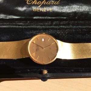 Chopard Geneve 18k Yellow Gold mens watch - 77.7 Grams