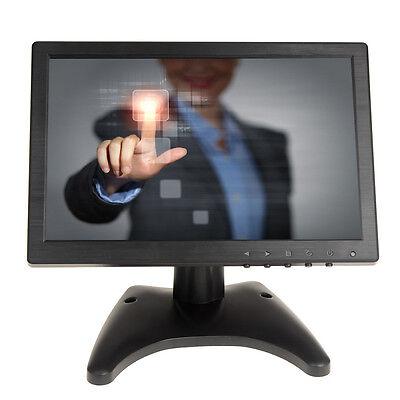 10  Touch Screen Hd Video Monitor Hdmi Vga Av Bnc Ips Fr Dvd Pos Pc Banking  Vcd